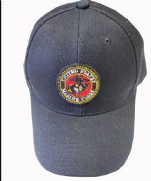 36 Bulk United States Marine Caps In Assorted Colors