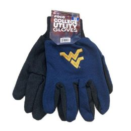 12 Wholesale Licensed Team Utility Gloves with Gripper Palm WV