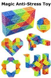 24 Units of Magic Anti Stress Toy - Puzzles