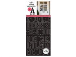 90 Wholesale 151 Piece Black Letter Sticker Set
