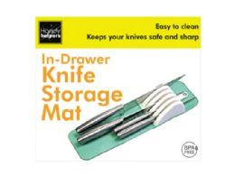 18 Bulk in-drawer knife storage mat