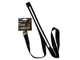12 Wholesale Light-Up Dog Leash