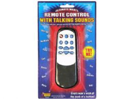 36 Wholesale Ultimate Mans Remote Control with Talking Sounds