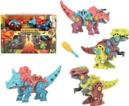 18 Units of Dinosaur Play Set 4 in 1 - Animals & Reptiles