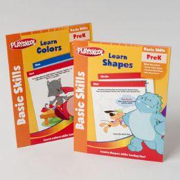 48 Units of Playskool PrE-K 32pg Workbooks - Coloring & Activity Books