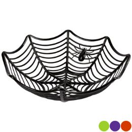 36 Units of Spider Web Basket Tray Plastic - Serving Trays
