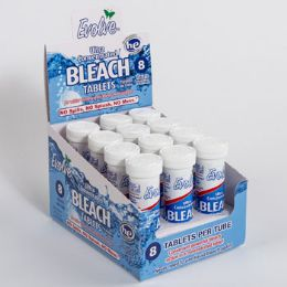 24 Units of Bleach Tablets 8ct Original - Laundry  Supplies