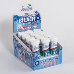 24 Units of Bleach Tablets 8ct Linen - Laundry  Supplies