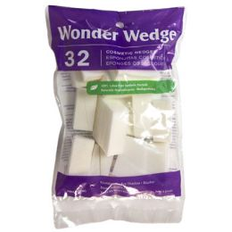 48 Bulk Cosmetic Wonder Wedge 32ct