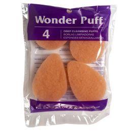 24 Bulk Cosmetic Wonder Puff 4ct