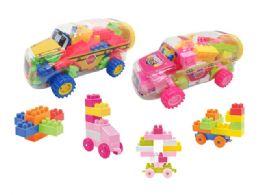 24 of Blocks Bus Play Set