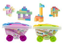 12 of Blocks Cart Play Set