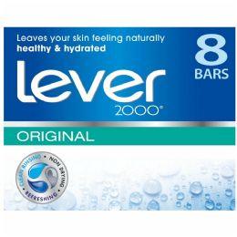 24 Bulk Lever Soap Bar 4oz 8pack