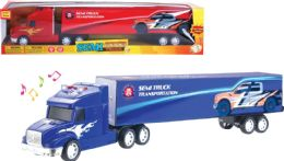 16 Bulk Friction Semi Truck with Light and Sound
