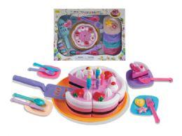 18 Units of Cake Play Set - Toy Sets