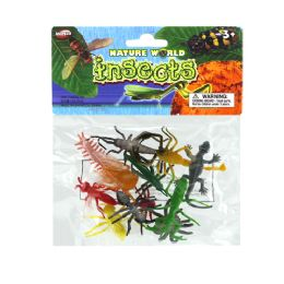 """48 Units of 12 Pcs 2"""" Insect In Pp Bag - Animals & Reptiles"""