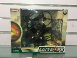 6 Units of Military Set W/ 10.5in Plane & 2 Pcs. 3.75in Soldier - Action Figures & Robots