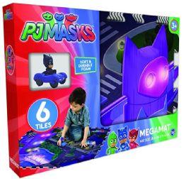 6 Units of 6pcs Tile Pj Masks Mega Mat And Vehicle Asst. - Toys & Games