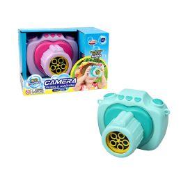 12 Units of 5oz B/o Bubble Camera In Color Box - Bubbles