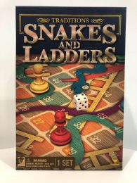 6 Units of Cgi Clg Snakes Ladder Traditions - Educational Toys