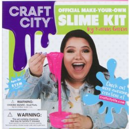 6 Units of Brandable Craft Sity Diy Slime Kit 6 - Clay & Play Dough