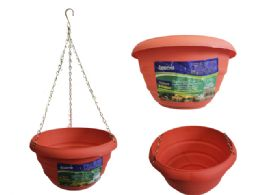 24 Units of Hanging Flower Pot Planter - Garden Planters and Pots