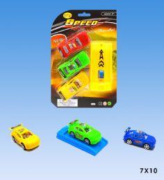 48 Units of 3pcs Car Launcher - Cars, Planes, Trains & Bikes