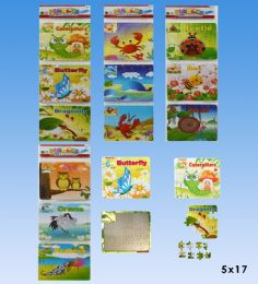 72 Units of 3pcs Puzzle set in bag - Puzzles
