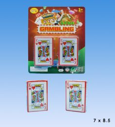 48 Units of Play card set in blister card - Card Games