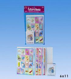 72 Units of Bachelorette lotteria in PVC bag header - Card Games