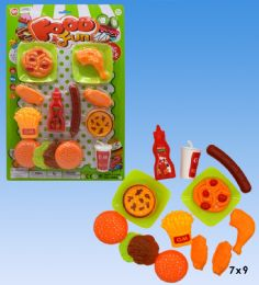 24 Units of Food playset in blister card - Summer Toys
