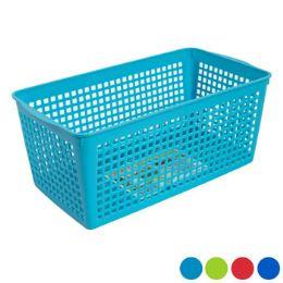 48 Units of Storage Basket Rectangular Slotted - Kitchen Tools & Gadgets