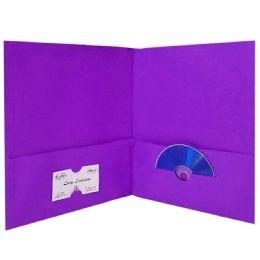125 of Poly Twin Pocket Folders Purple