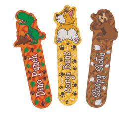 48 Units of Totally Adorkable Scented Bookmarks - Books