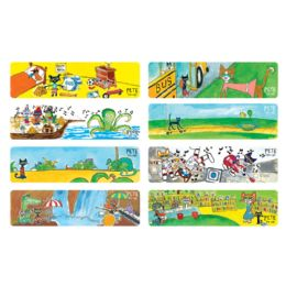 144 Units of Pete The Cat Bookmarks - Books