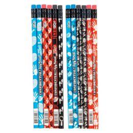 144 Bulk Confidential Spy Glow-in-the-Dark Pencils