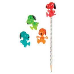 48 Bulk Gummy Snoopy Pencil Toppers