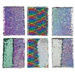 36 Wholesale Magical Sequins Journals