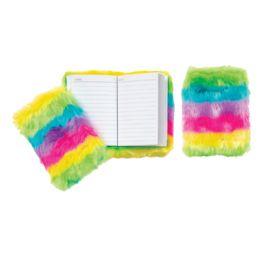 12 Wholesale Furry Rainbow Memos