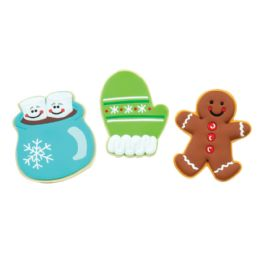 48 Wholesale Scented Christmas Cookie Erasers