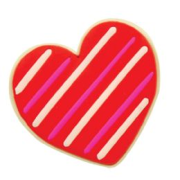 48 Units of Scented Valentine Cookie Erasers - Erasers