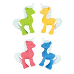 72 Bulk 3D Unicorn Erasers