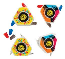 24 Bulk Fidget-Su Spinning Tri-Color Pens with Erasers