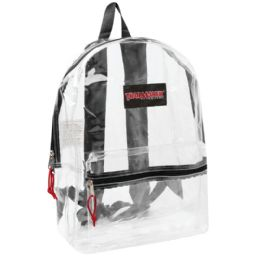 "2 Units of Clear Backpack - Backpacks 17"""