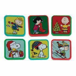 144 Bulk Peanuts Holiday Character Erasers