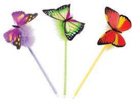 48 Bulk Flutter-Fly Springy Pens