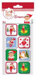 16 Bulk The Elf on The Shelf Erasers
