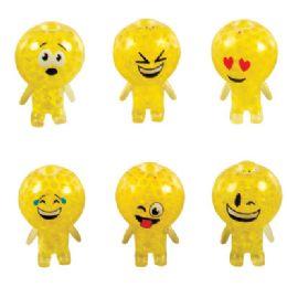 24 of Emoji Boba Ball Toy