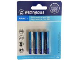 36 Units of westinghouse dynamo alkaline 4 pack aaa battery - Electronics