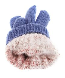 72 Units of Five Finger Cap Knitted Big Kids' Gloves - Kids Winter Gloves